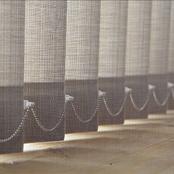 Luxaflex Semi-Transparent Naturals Vertical Blind